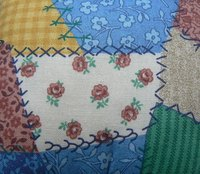 Patchwork is an eye-catching and fun art of sewing.