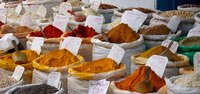 Spices rule in Colombian cuisine.