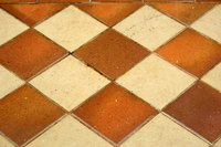 Ceramic tile can be installed on terrazzo.