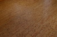 Remove old floor finish before refinishing your floors.