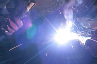 Arc welding was invented in 1881.