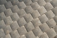 Concrete pavers are generally installed on patios, driveways and walkways.