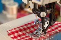Use a mini sewing machine.