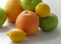 Citrus trees thrive in the warm, sunny and relatively dry climate of Southern California.