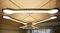 Fluorescent tubes and other lighting that is used in schools.