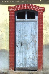 Fix a sagging door frame.