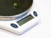 Use a kitchen scale to help determine the density of various ingredients.