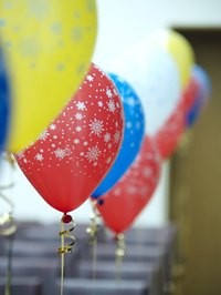 Helium is often used to fill balloons.