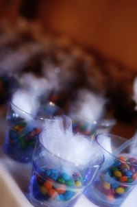 Find out how to use tulle for your wedding decorations.