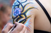 Body painting can be a fun way to express your imagination on the body.