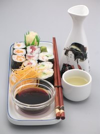 Soy sauce and sake are made with kojic acid.