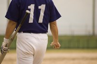 Oxygenated cleaners can help to remove stains from baseball pants.