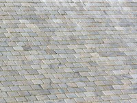 Whatever brand of coating you choose, it must be specially formulated to cover slate or you will end up with chipping and peeling.