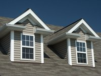 Gabled dormer windows are interesting additions to your roof