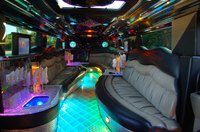 Limousines add glamour and luxury to a birthday party.