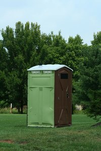 Portable toilets come in all shapes and sizes.