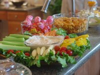 Appetizer ideas for a teenager's birthday party can include hot and cold dishes.