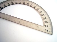 Protractors allow for the measurement of angles.