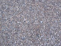Loose stones are a money saving alternative to brick or asphalt.