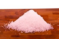 When used in moderation, sea salt keeps your plants looking healthy.