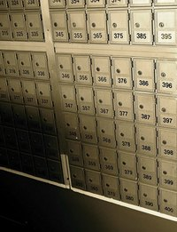 Remove the mailbox lock yourself to save money.