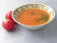 Tomato soup is delicious when made thick and creamy.