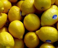 Lemons grow throughout the world.