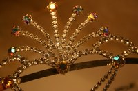 The tiara crowning is one activity at a quinceanera.
