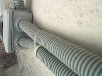 There are two basic types of flexible conduits.