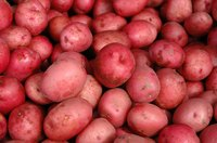 Red potatoes are delicious when cooked in the microwave.