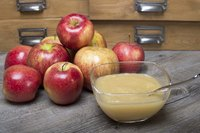 The frozen applesauce will work well in baked goods recipes.