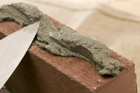 Polymer-modified mortar offers advantages over traditional mortar in many situations.