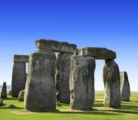 A portion of Stonehenge.