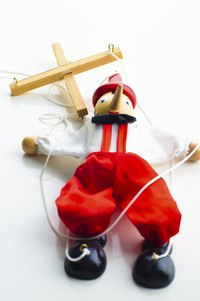 Put on a show after you make your string puppet.