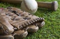 Create a shoebox diorama depicting America's favorite pastime.