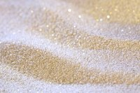 With salt, food coloring and a child helper, you can make your own glitter.