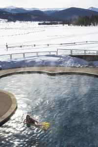 Winter pool closing takes special supplies to keep the pool safe from damage.