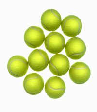Tennis balls can become lodged in spouts and drains, causing improper operation.