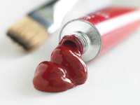 Acrylic paint spills can be removed with soap and water if you act quickly enough.