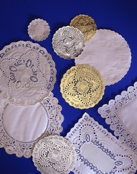 Paper lace can be in almost any shape or pattern you can imagine.