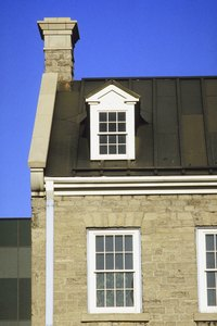 Gutters and downspouts are an important heritage restoration detail.
