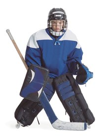 A hockey player costume can last for years.