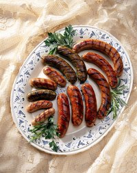With proper handling, sausage is safe for consumption for days past its sell-by date.