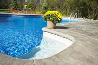 Surfaces in and around pools should provide a safe amount of traction.