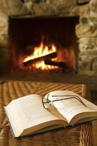 Warming a flue before lighting a fire directs smoke up the chimney, not into the room.