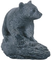 Soapstone makes beautiful, durable sculptures as well as architectural accents.