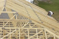 Trusses are commonplace in new home construction.