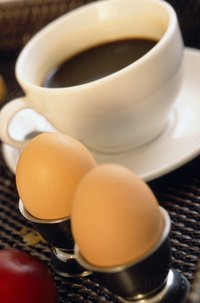Serve up hard-boiled eggs that are easy to peel.
