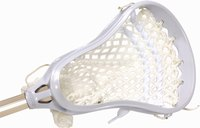 Dye lacrosse mesh before stringing your stick.