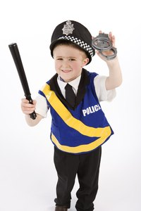 Add a police hat to your costume chest.